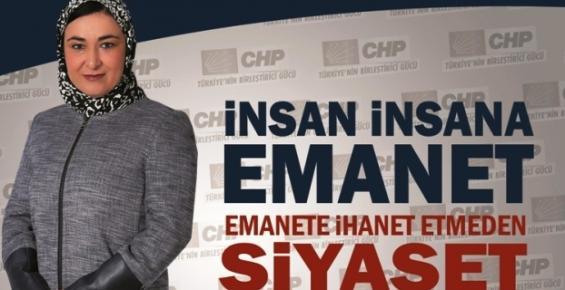 CHP'de Başörtülü Tek Kadın Milletvekili Adayı