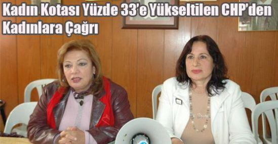 CHP'den Kadınlara Çağrı