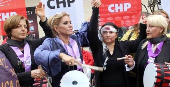 CHP'li Kadınlardan İlginç Protesto