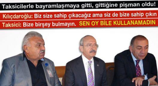 CHP'ye Oy İsteyen Kılıçdaroğlu'na Taksicinin Verdiği Cevap...