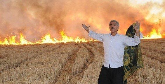 Çiftçilere 'Anız Yakmayın' Uyarısı