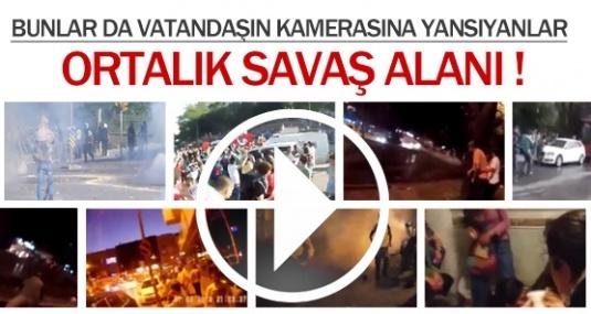 Çıkan Olaylar Vatandaşların Kamerasında