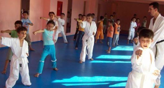 Çocuklar Karate İl Şampiyonası Yapıldı