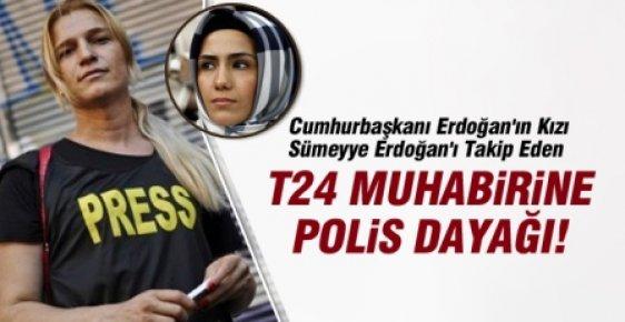 Cumhurbaşkanının Kızını Takip Eden Gazeteciye Polis Dayağı