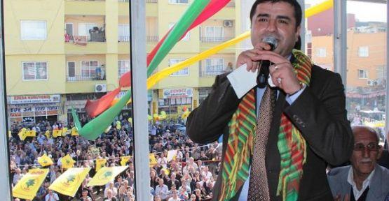 Demirtaş Mersin'de kürt gerçeğine vurgu yaptı.