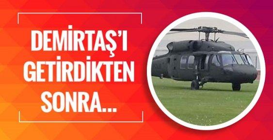 Demirtaş Polis Helikopteriyle Böyle Götürüldü...