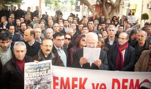 Demokrasi Platformundan 4+4+4 Yasa Teklifine Protesto