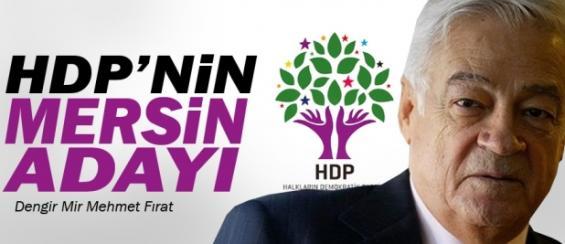 Dengir Mir Mehmet Fırat HDP Mersin'den Aday