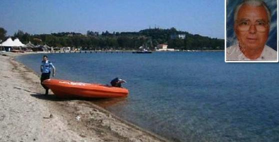 Denize Giren Yaşlı Adam, Boğularak Öldü