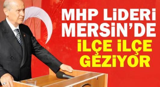 Devlet Bahçeli Mersin'de Başbakan'a Yüklendi