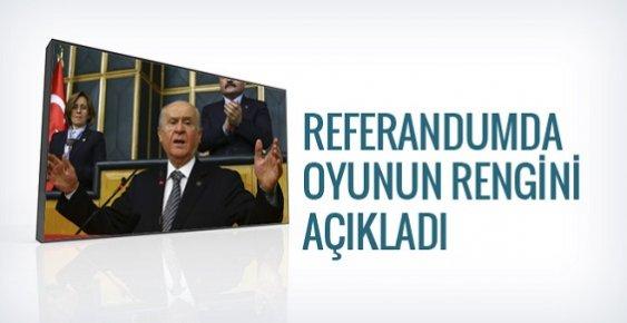 Devlet Bahçeli Referandumda Kullanacağı Oyu Açıkladı