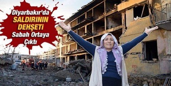 Diyarbakır Saldırısının Dehşeti Sabah Ortaya Çıktı