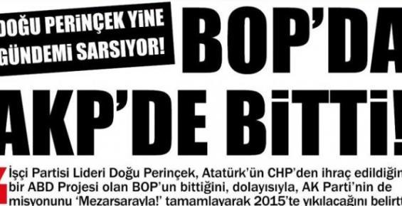 """Doğu Perinçek: """"AK Parti 2015'de Yıkılacak"""""""