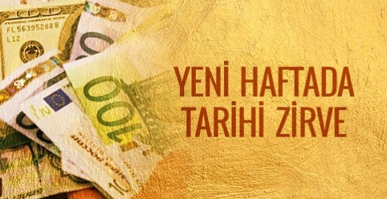 Dolar ve Euro Kaç TL Tarihi Zirve 09.01.2017