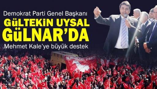 DP Genel Başkanı Gültekin Uysal Mersin'de