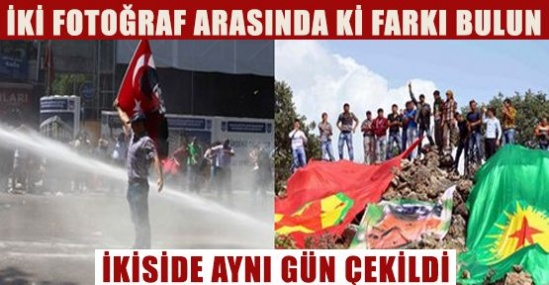 Dünkü Türkiye'den iki fotoğraf !