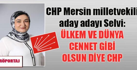 """Elif Selvi, """"İnsan Odaklı Siyaset Yapacağım"""""""