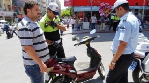Emniyet Müdürlüğü'nden Elektrikli Bisiklet Uyarısı