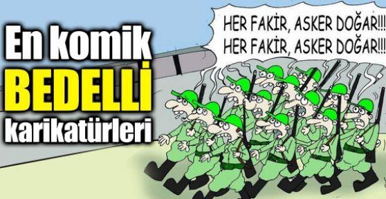 En Komik Bedelli Karikatürleri