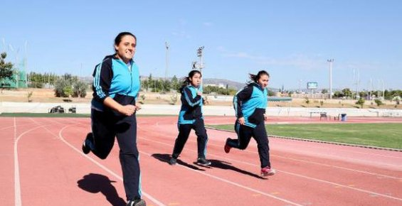 Engelli Sporcular Türkiye Şampiyonası'na Hazırlanıyor