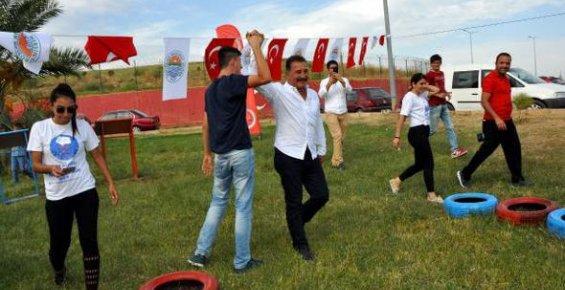 Engelliler Macera Parkı'nda Stres Attı