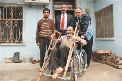Engellilerin 'Tekerlekli Sandalye' Sevinci
