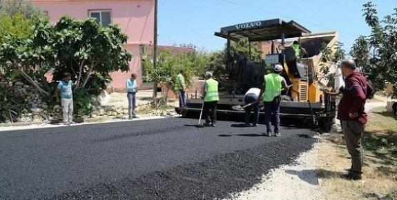 Erdemli Ayaş'ta Yol Çalışmaları Hızlandı