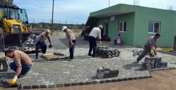 Erdemli Belediyesi'nde Tapureli Ve Yağda Mahallelerine Hizmet