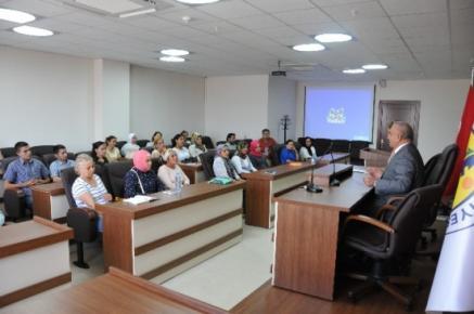 Erdemli Belediyesi'nden Girişimcilik Kursu