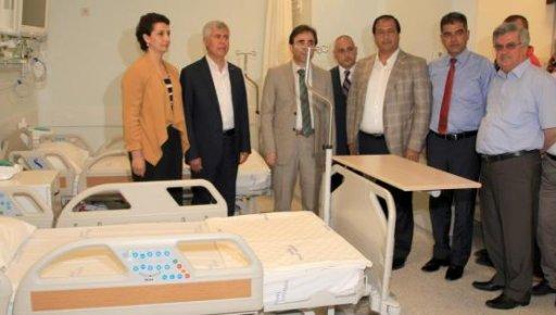 Erdemli Devlet Hastanesi'nde İki Ünitenin Açılışı Yapıldı