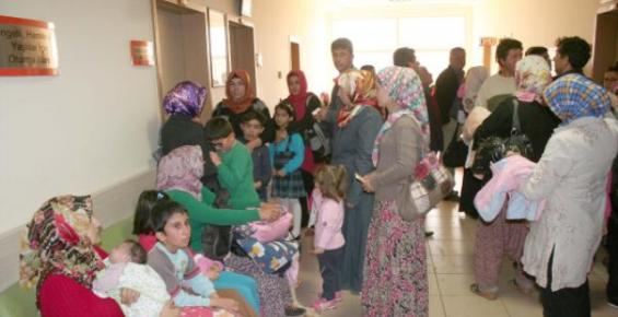 Erdemli'de Çocuklar Arasında Hastalık Salgını