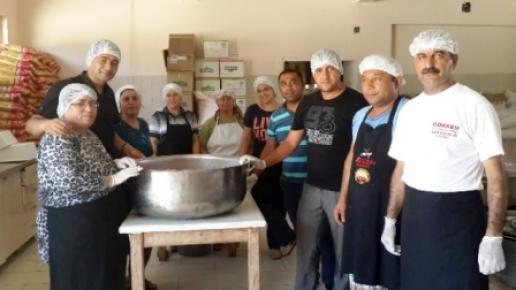 Erdemli'de İftar Yemekleri Gıda Mühendisi Denetiminde Yapılıyor