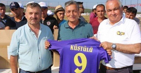 Erdemli'de Köylerarası Futbol Turnuvası Başladı