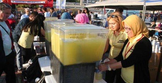 Erdemli'de Limonata Festivali