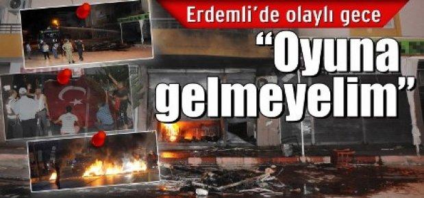 Erdemli'de Tehlikeli Provakasyon