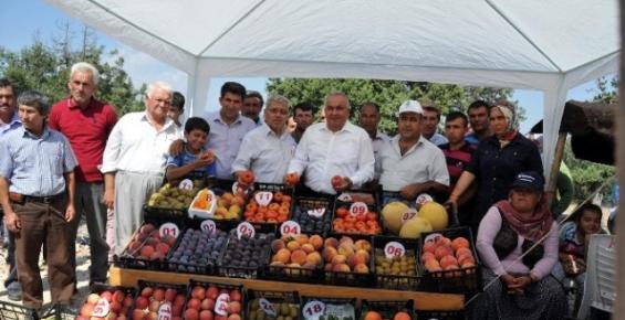 Erdemli'de Yayla Köyleri Yaş Sebze ve Meyve Festivali Coşkusu