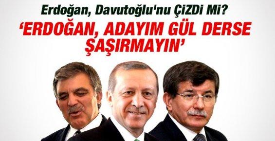 Erdoğan Davutoğlu'nu Çizdi mi? Adayı Abdullah Gül mü?