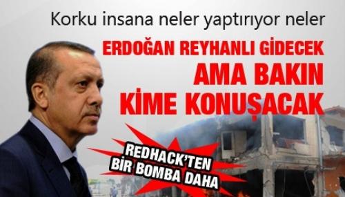 Erdoğan Reyhanlı'da Kime Konuşacak