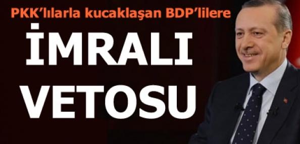 Erdoğan: Teröristle kucaklaşanı İmralı'ya göndermeyiz