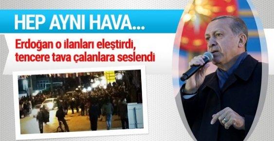 Erdoğan'dan Gezici'lere Tencere Cevabı