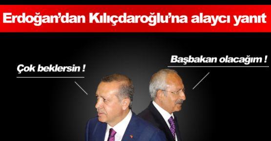 Erdoğan'dan Kılıçdaroğlu'na Alaycı Yanıt