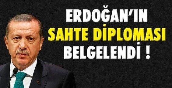 """Erdoğan'ın Diplomasının """"Sahte Olmadığını"""" Kanıtladığı İddia Edilen Belge de SAHTE Çıktı"""