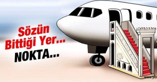 Erdoğan'ın Diyanet'e Uçak Vaadine Karikatürlü Gönderme