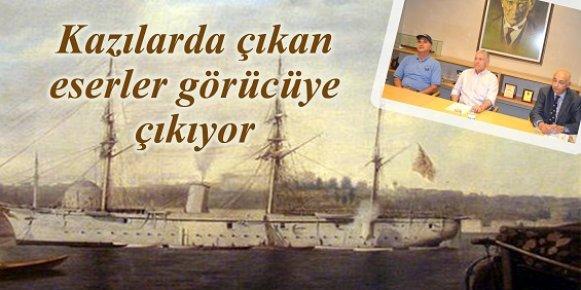 Ertuğrul Firkateyni'ne Ait Parçalar Mersin Deniz Müzesi'nde Sergilenecek.