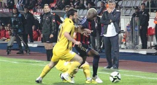 Mersin İdmanyurdu Türkiye Kupasında Hepten Yok