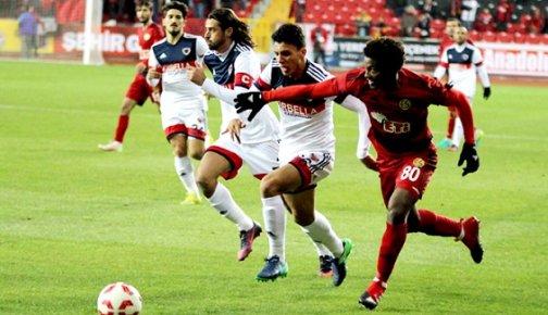 Eskişehirspor: 6 - Mersin İdmanyurdu 0