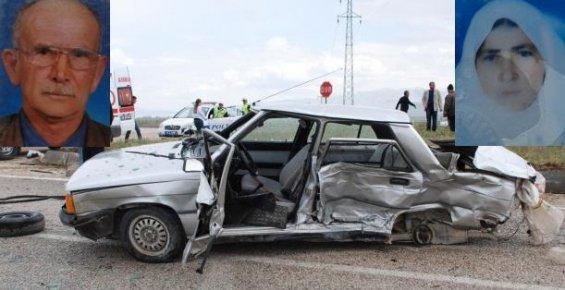 Feci Kazada Karı Koca Yaşamını Yitirdi