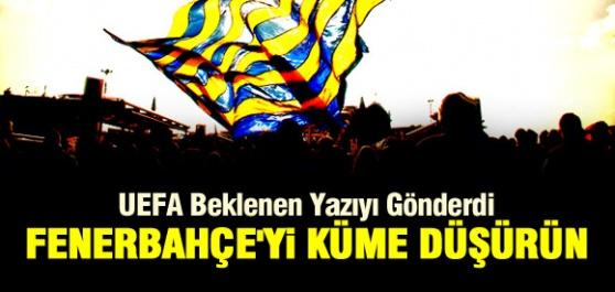 Fenerbahçeyi Küme Düşürün