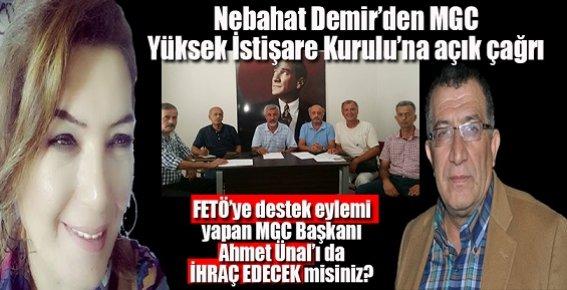 Fethullah Gülen'e Destek Eylemi İddiasıyla Ahmet Ünal'a İhraç Talebi