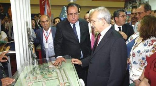 Mersin Büyükşehir Belediyesi'nin Standına Yoğun İlgi
